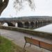 Ponte sobre o río Eume que conecta os concellos de Cabanas e Pontedeume.