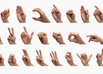 Linguaxe de signos.