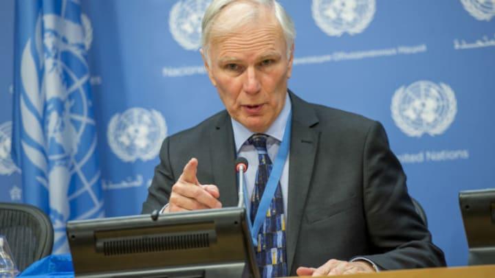 O relator sobre Extrema Pobreza e Dereitos Humanos da ONU, Philip Alston.