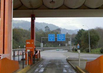 Peaxe da AP9 en Guísamo