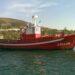 O pesqueiro afundido ao noroeste de Cedeira
