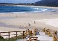 Playa de San Xurxo, en Ferrol, catalogada también de excelente.