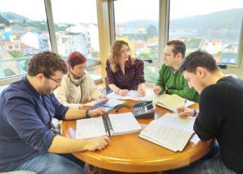 Foto de arquivo do equipo de goberno