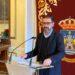 El alcalde de Ferrol, Ángel Mato, durante una comparecencia en el concello