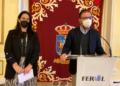 Ángel Mato y Eva Martínez en el anuncio del nombramiento