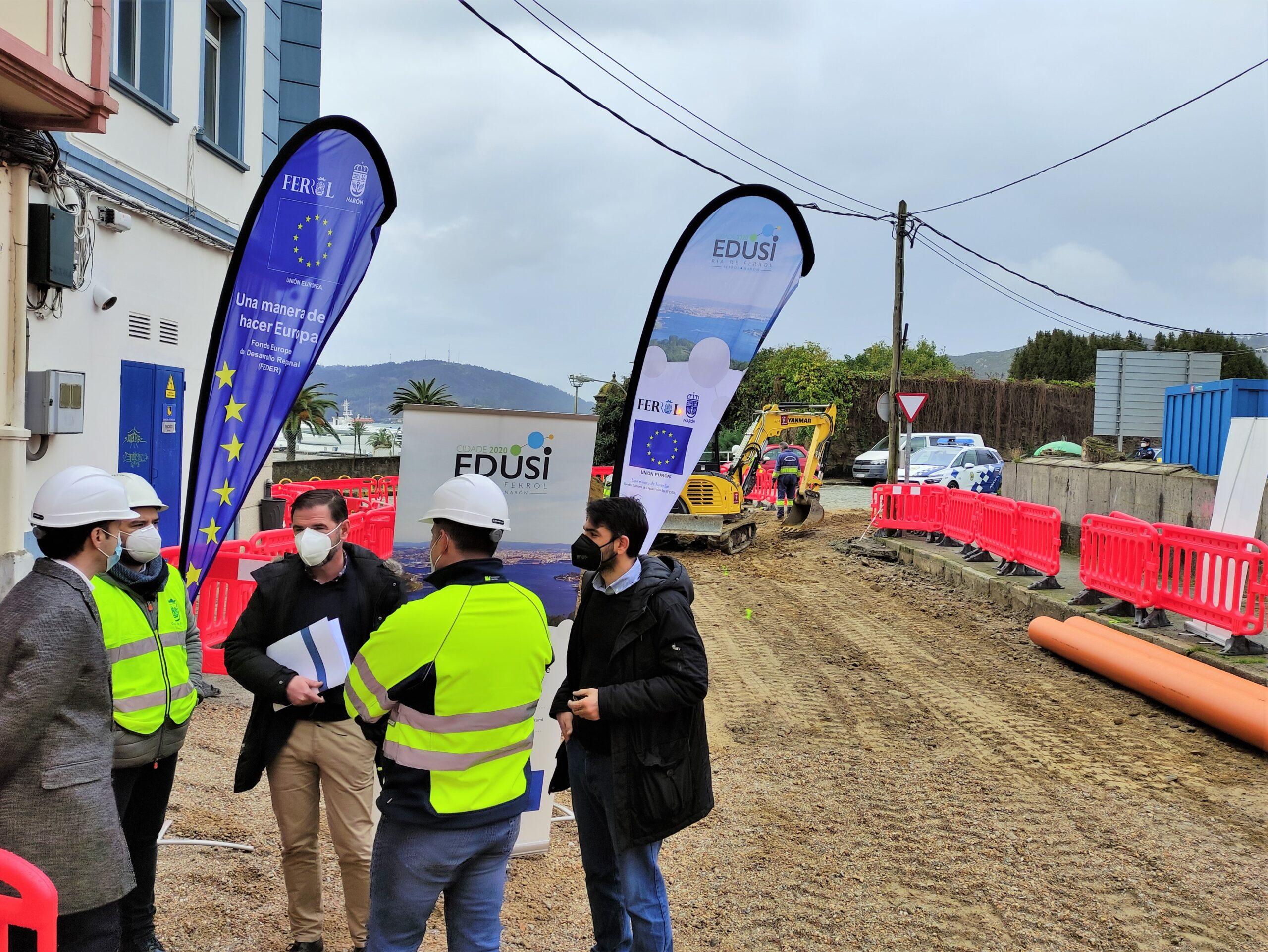 La nueva plataforma de la calle Espartero se prolongarán hasta la antigua fábrica de lápices