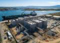 La planta de Higas en el puerto de Oristano