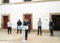 Ana Pontón presentó el proyecto industrial del BNG en Ferrol, acompañada por responsables municipales de la formación nacionalista