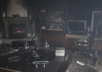 La vivienda tras el incendio | BOMBEROS LUGO