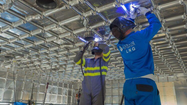 La empresa se ha especializado en los últimos años en el mantenimiento de gaseros | GABADI