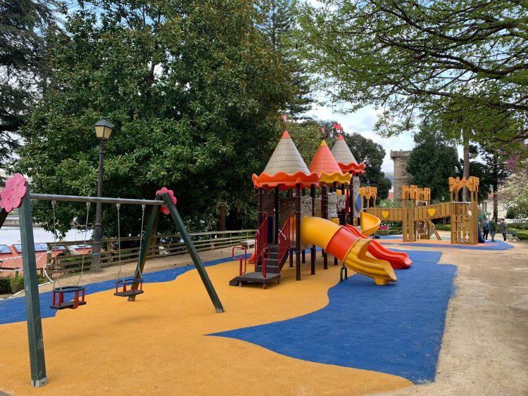 La zona cuenta con nuevos elementos recreativos para los más pequeños