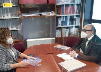 Reunión entre Marián Ferreiro y Rafael Eimil