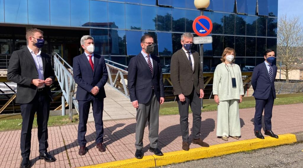 El vicepresidente Alfonso Rueda visitó este pasado miércoles las instalaciones