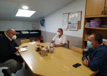 La reunión entre representantes del Ayuntamiento y del Centro de Salud