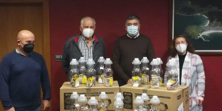 Presentación de la iniciativa para luchar contra la avispa velutina | CONCELLO DE ORTIGUEIRA
