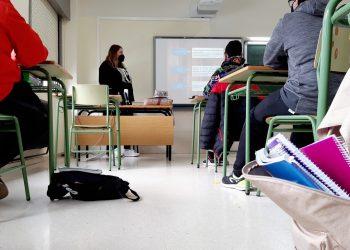 Uno de los talleres iniciados hoy en las aulas del IES Fernando Esquío