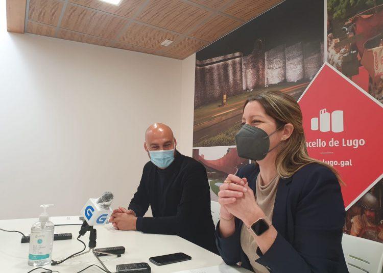 Lara Méndez presentando el nuevo plan.