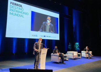 Ángel Mato en la clausura del congreso |  CONCELLO DE FERROL