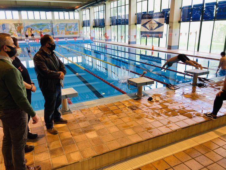 La preselección se realizó en la piscina de Caranza