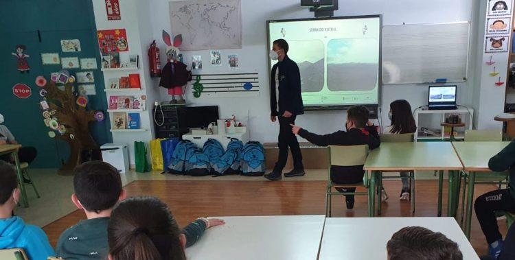 Sesión de sensibilización en uno de los centros | DIPUTACIÓN DE LUGO