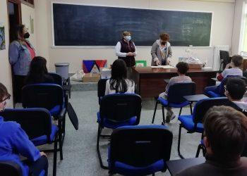 Las ediles entregaron los premios al alumnado de los colegios Jorge Juan y Virgen del Mar de Narón