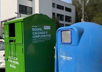 Colectores de Humana para el reciclaje de ropa