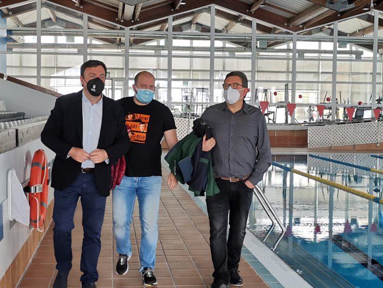 El alcalde de As Pontes visitó esta mañana las instalaciones