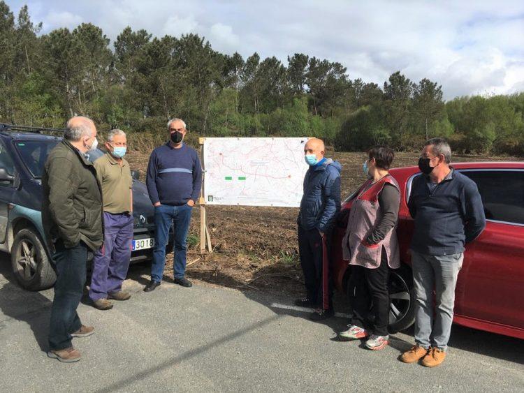 El concejal de Infraestructuras, Luis Fernández, presentando el proyecto | CONCELLO DE VILALBA