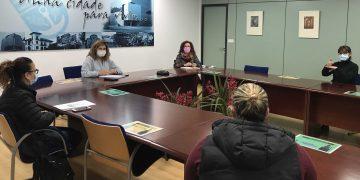 Reunión del gobierno local de Narón con la entidad AXF