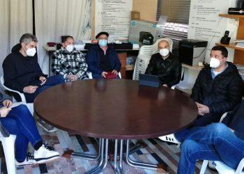 Reunión entre representantes del Bloque y de AGAVIDA