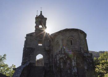 El monasterio de Caaveiro.