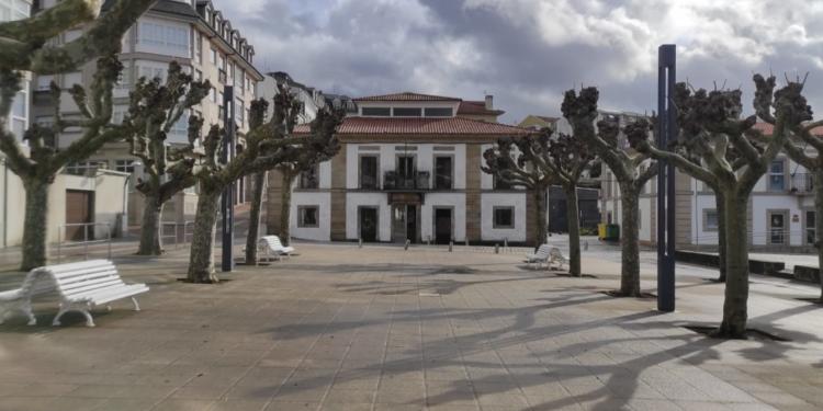 La alameda de Santa Marta actualmente.
