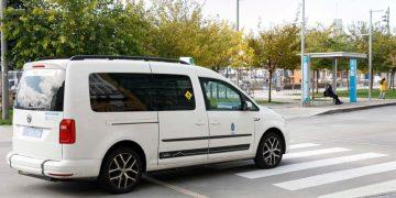 Imagen de un taxi adaptado | CONCELLO DE A CORUÑA
