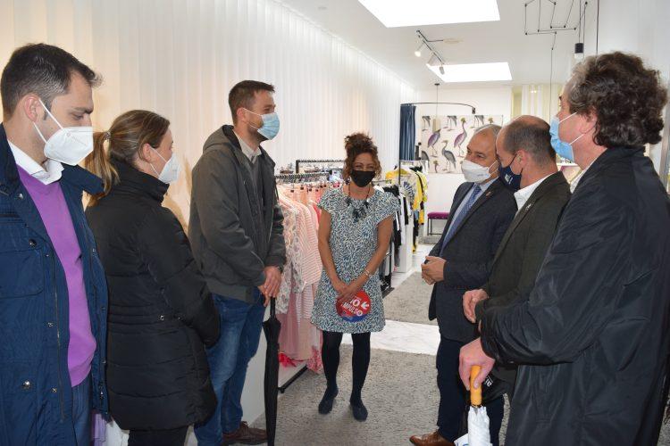 La visita del presidente provincial a Foz | DIPUTACIÓN DE LUGO