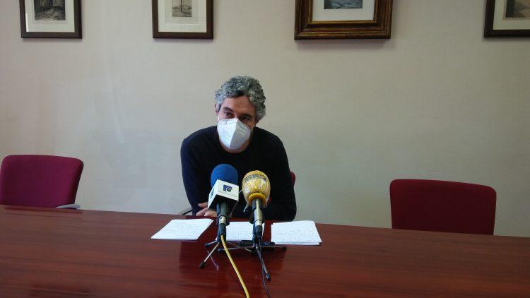 Iván Rivas, portavoz del BNG en Ferrol