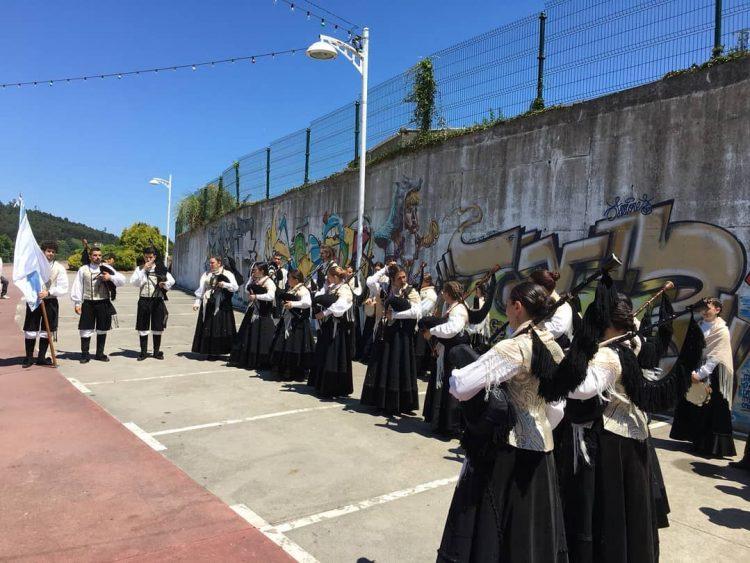 El broche final lo pondrá la Escola de Gaitas de Ortigueira