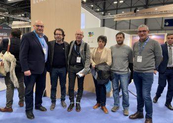 Presentación del proyecto de Geoparque en Fitur en 2019