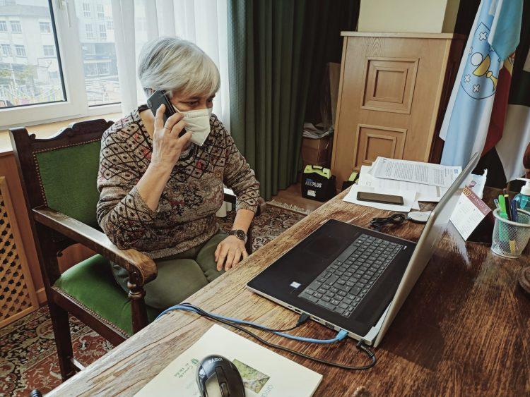 La alcaldesa de Vilalba en una foto de archivo.
