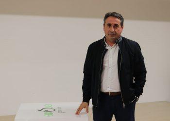 Luis Rey, candidato a la alcaldía.