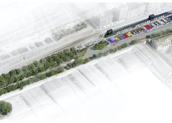 El proyecto contempla zonas de terraza y espacios de ocio infantil