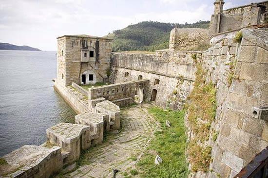 Castillo de San Felipe en Ferrol.