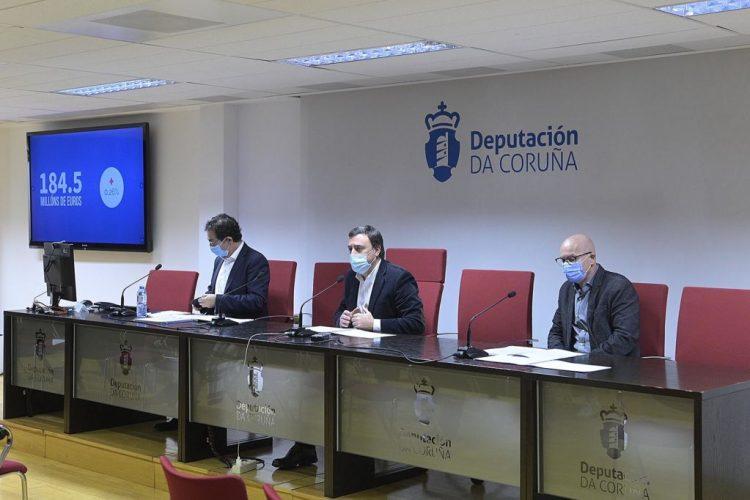 Pleno de la Diputación de A Coruña.