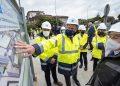 El titular del Gobierno gallego visita las obras de ampliación del Complejo Hospitalario Universitario de Ferrol