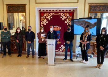 El alcalde de Ferrol, Ángel Mato, presentó las cuentas municipales junto al resto del equipo de gobierno