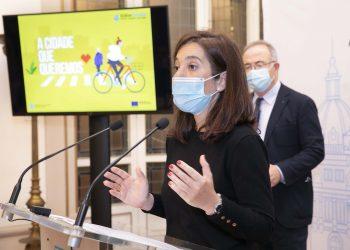 La alcaldesa Inés Rey.