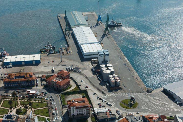 Puerto de A Coruña.