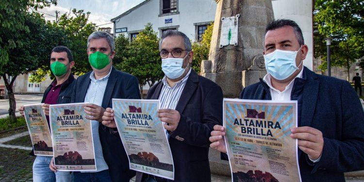Presentación de la conmemoración de la batalla de Altamira   DEPUTACIÓN DA CORUÑA