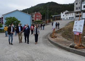 José Tomé y Darío Campos presentan el proyecto del centro de mayores de A Pontenova | DIPUTACIÓN DE LUGO