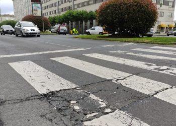El actual pavimento presenta un importante deterioro