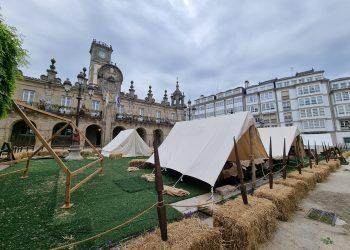 Los campamentos ya están instalados y cumplirán con las medidas de aforo.